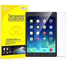 """JETech iPad Air 1 / 2, iPad Pro 9.7"""", El nuevo iPad 9.7"""" (2017) Vidrio Templado Protector de Pantalla Defensa Membrana"""