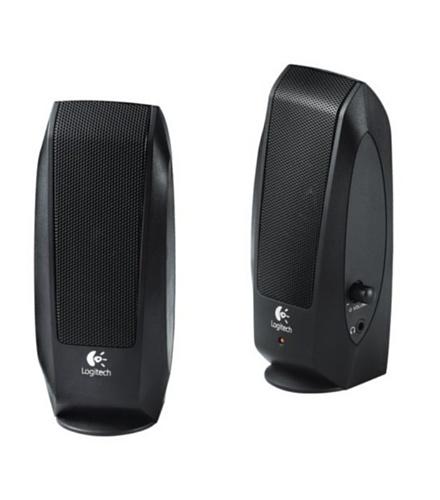 Logitech LGT-S120 - Altavoces (PC, Mesa/estante, Satélite, 2,3W, 50 - 20000 Hz, Negro)