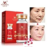 Argireline+aloe vera+collagen peptides rejuvenation anti wrinkle Serum for the face skin care products