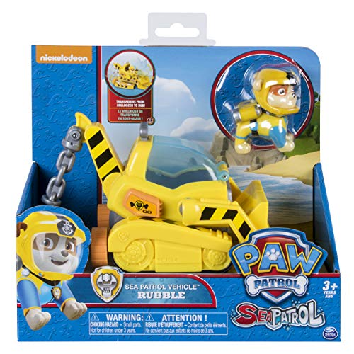 Spin Master Paw Patrol Sea Patrol Themed Vehicle Rubble...