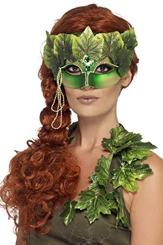 Karneval Kostüm Damen Waldfee - Smiffys 43748 - Waldfee Augenmaske mit