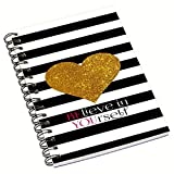 #9: Aurra Designer Wire bound ruled paper sheets personal and office stationary Notebooks & diary.