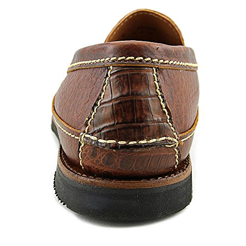 Chippewa Slip On Rund Leder Slipper Cognac