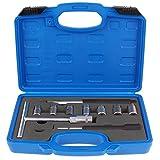 TecPo Injektor Dichtsitz Fräser Satz 9-tlg Spezial Werkzeug Set Injektoren Reiniger