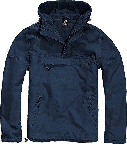 Brandit Herren Jacke Windbreaker Blau (Navy 8) XXXX-Large