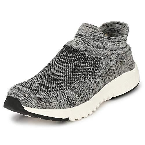 WOODBAY Mens Grey AIRMIX Running Shoes (9, Grey)