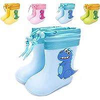 Gainsera Stivali Gomma Bambino Bambini Impermeabile Stivali Pioggia Bambino Bambina Stivali da Pioggia per Ragazzi e…