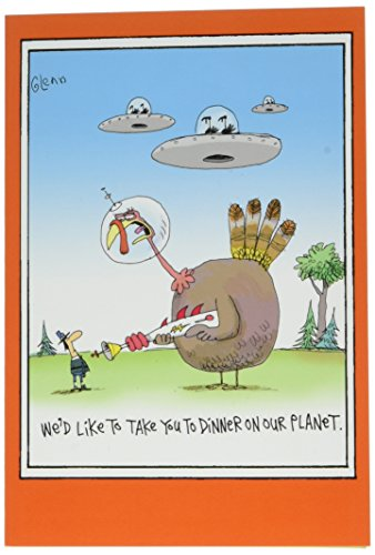 bendessen'-Funny Thanksgiving Grußkarte 12,7x 17,8cm mit Kuvert, Nobleworks ()