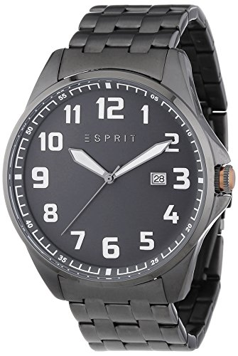 esprit-clayton-mens-quartz-watch-with-grey-dial-analogue-display-and-grey-stainless-steel-bracelet-e
