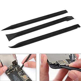 Kits de reparación BAKU 3 en 1 anti-estáticas barra de palanca Herramientas de reparación de la abertura / plano flexible Cable Kit Dedicado
