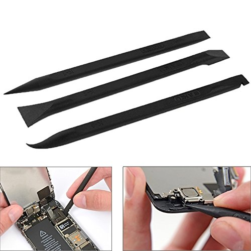 Reparatursätze , 3 BAKU in 1 Anti-Statik-Stemmeisen Opening-Reparatur-Werkzeuge / Flexible Flat Cable Dedicated Kit
