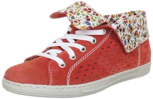 Rieker Z8416, Damen Fashion Halbstiefel & Stiefeletten, Rot (candy/weiss-multi 33), EU 41