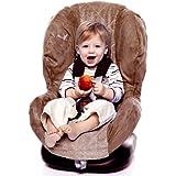 Wallaboo WCV.0308.7 - Funda de verano para silla de coche grupo 1, microfibra de ante y 100% tela de toalla absorbente