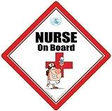 Nurse on Board, Nurse on board segnale auto, Nurse SEGNO, ALLATTAMENTO SEGNO,...