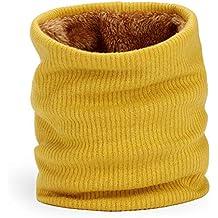 Dafunna Scaldacollo Pile Unisex Sciarpa in Maglia con Vello Inverno Molle  Scaldacollo Caldo e Anti Vento 8968c5e2965f