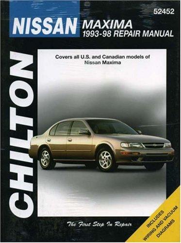 chiltons-nissan-maxima-1993-98-repair-manual