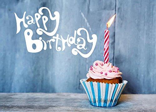 1 Stück LOLLIPOP® 'Cupcake - Happy Birthday' Spardose, aus Blech + Pappe, für besondere Anlässe