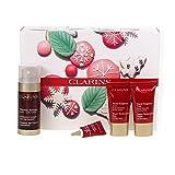 Clarins Double Serum 30ml and Super Restorative Cream Skincare Set and Washbag