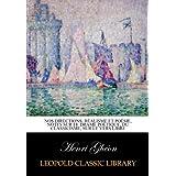 Nos directions; réalisme et poésie, notes sur le drame poétique, du classicisme, sur le vers libre
