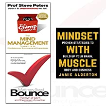 chimp paradox,mindset with muscle and bounce 3 books collection set - the myth of talent and the power of practice,the mind management programme to help you achieve success, confidence and happiness,proven strategies to build up your brain, body and business