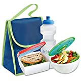 Fit & Fresh Healthy Lunch Combo Pack with Free Water Bottle