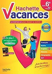 Hachette Vacances de la 6e à la 5e