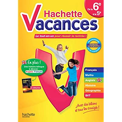Hachette Vacances De La 6e A La 5e Pdf Download Free