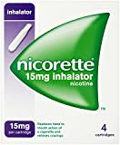 Nicorette Inhalator Starter Pack 15mg, 4 Cartridges