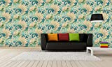 #8: BDPP Imported Vinyl Coated Washable Wallpaper-w1504(Covers approximately 50 square. Feet.)