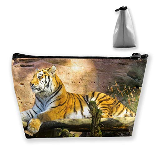 c153aea00989 Storage Bag Tiger Animal Cosmetic Bags Outdoor Travel Organizer Bag Makeup  Train Case