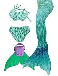 SPEEDEVE coda di sirena per ragazze costume da bagno insiemi del bikini