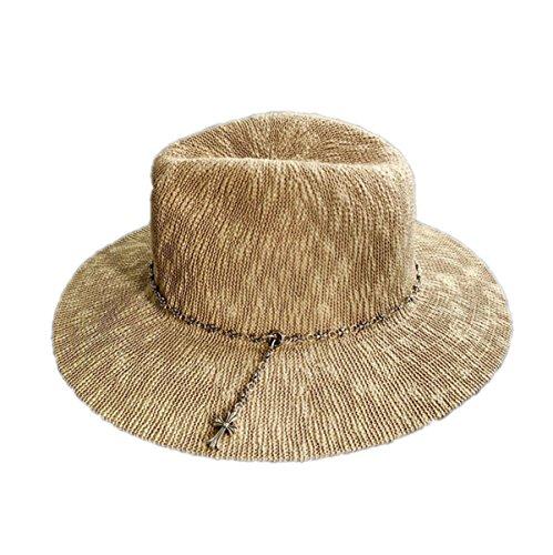 Mesdames Chapeau Mode Outdoor Sun Hat Jazz Men BeanPaste