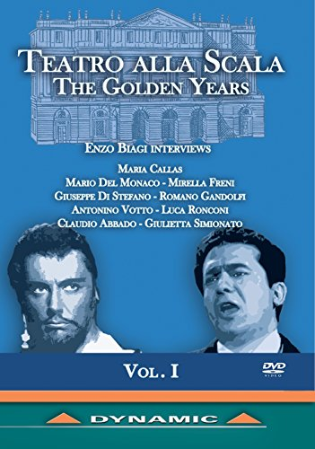 Teatro Alla Scala: The Golden Years Vol. 1[DVD]