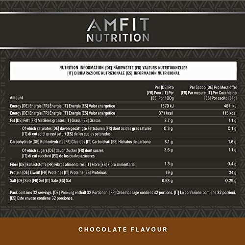 Amfit Nutrition Advanced Whey Protein 992 g - 2