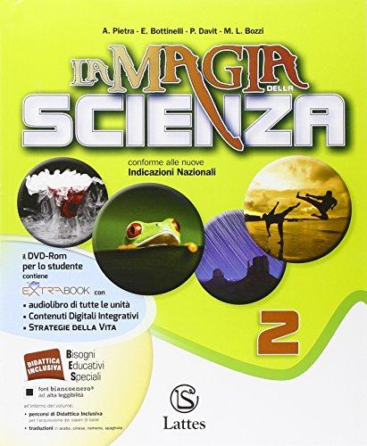 La magia della scienza. Per la Scuola media. Con DVD. Con e-book. Con espansione online: 2