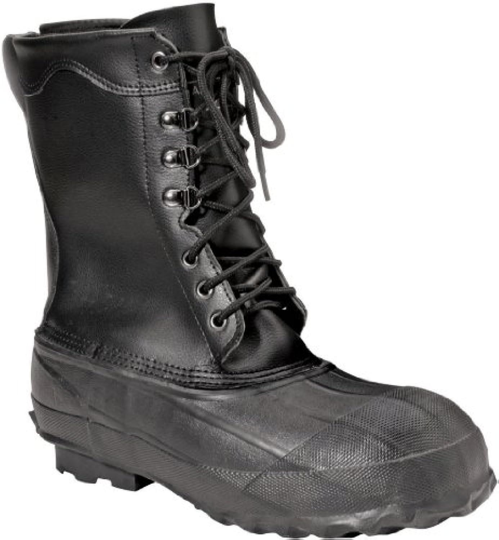 Ranger 10 Stivali da uomo uomo uomo in pelle e acciaio con inserti in gomma, neri (A521) | Prezzo ottimale  d7b5c6