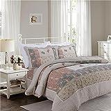 Kaxima Bettwäsche Set Heimtextilien Vier Sets von Amerikanische Baumwolle Handgewebt Quilten Quilt Decken Drei Stücke zu Waschen, Quilten Quilt