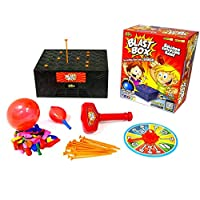 لعبة صندوق المفرقعات السطحي - العاب انفجار البالونات - دمية تريكي مع العاب الحفلات للكبار والصغار - العاب العائلة الممتعة