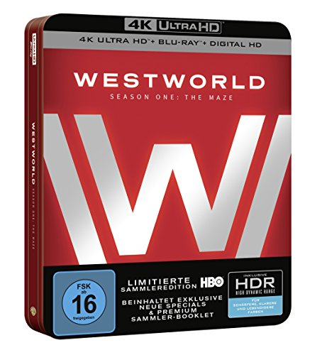 Westworld Staffel 1: Das Labyrinth (Steelbook) – Ultra HD Blu-ray [4k + Blu-ray Disc] - 2