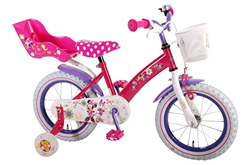 Volare Disney Minnie Bow-Tique 31426 Kinderfahrrad 14 Zoll - Bows Minnie
