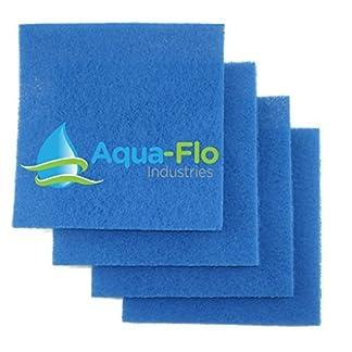 "aqua flo 12""x 12""x 1"" rigid pond filter media, 4 pads (4 square feet) Aqua Flo 12″x 12″x 1″ Rigid Pond Filter Media, 4 Pads (4 square Feet) 51dZInoqUTL"