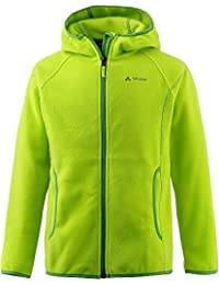 VAUDE yalca Paul chaqueta de forro polar, otoño/invierno, infantil, color Verde - verde, tamaño 3 años (98 cm)