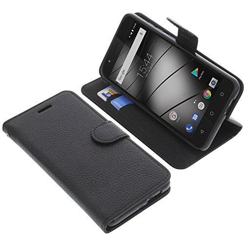 foto-kontor Tasche für Gigaset GS270 / GS270 Plus Book Style schwarz Schutz Hülle Buch