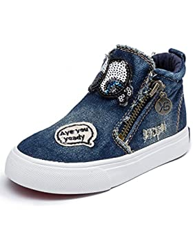 Alexis Leroy Chambray High-Top mädchen / jungen hohe Sneakers