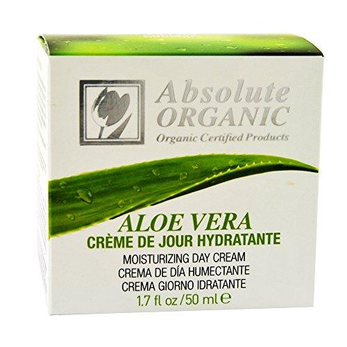 Bio Organic Aloe Vera idratante crema da giorno 100% bio ECOCERT privo di Aloe Vera-50ML