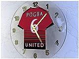 Paul Pogba 6–Manchester United FC Wanduhr–Limited Edition, Die Legends des Fußballs