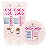 Lee Stafford Cocoloco Shampoo, Conditioner and Mask Bundle Set -