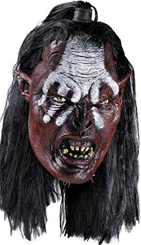 Herr der Ringe Lurtz Maske aus -