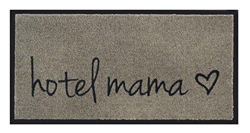 Fußmatte / Schmutzabstreifer / Fussmatte Fussabstreifer Sauberlaufmatte / Türfußmatte / Fußabstreifer / Fußabtreter / Türmatte / Schmutzfangmatte - robuste Fußmatte / Modell Hotel Mama