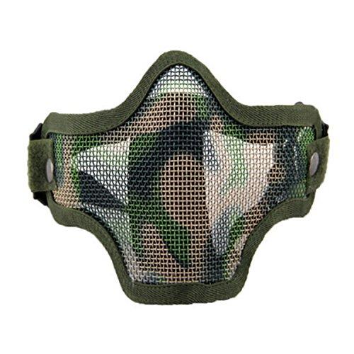 Máscara Airsoft QMFIVE Malla Acero Táctico